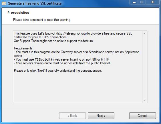 TS2log - Documentation
