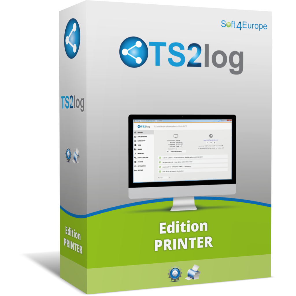 Licences TS2Log Edition PRINTER