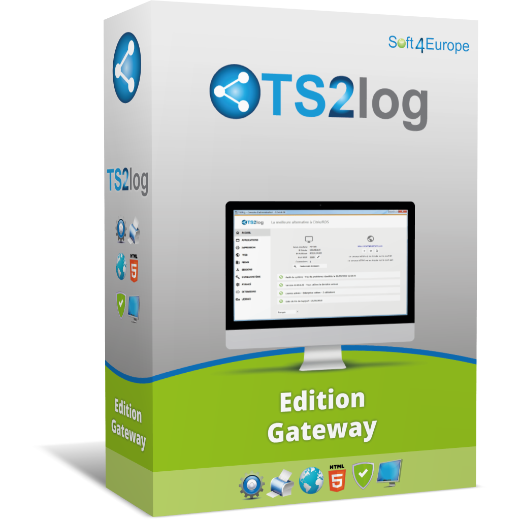 Licences TS2Log édition gateway