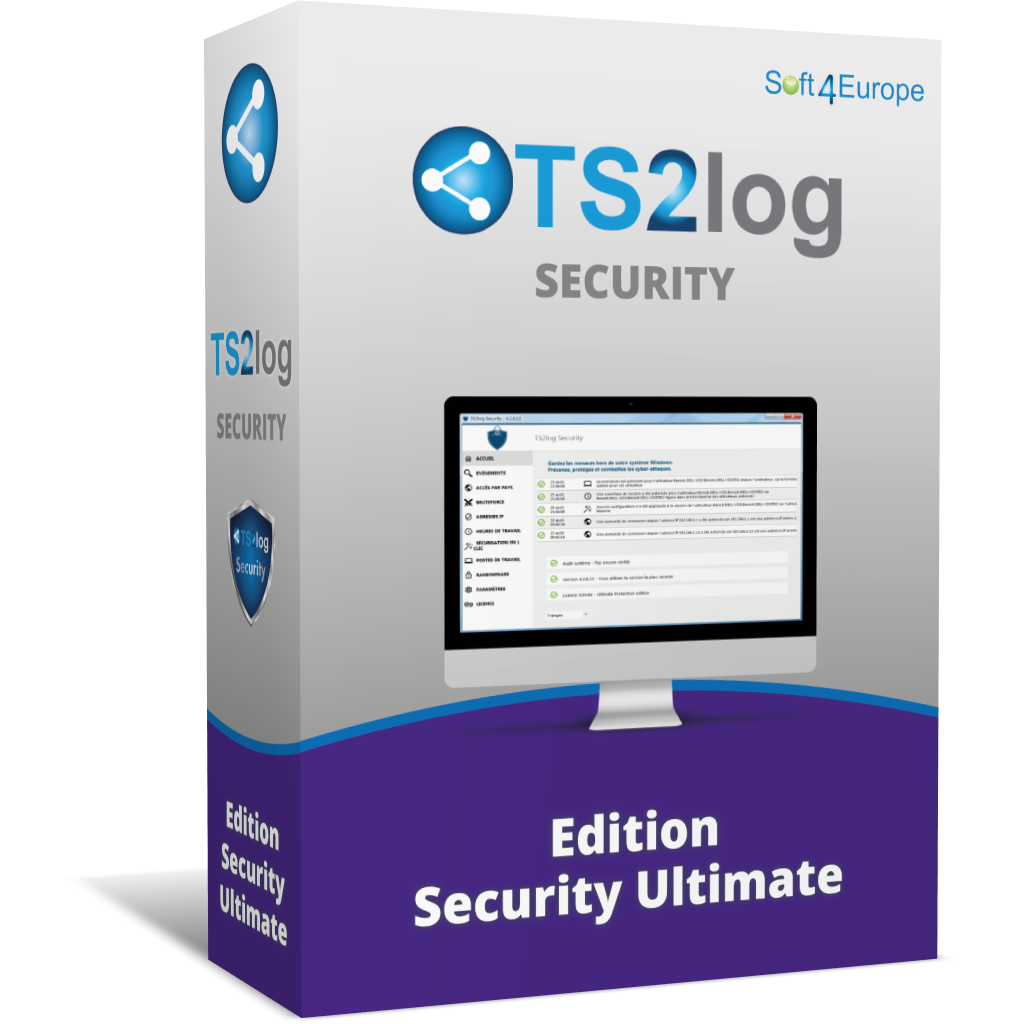 Licences TS2Log Edition ultimate security width=